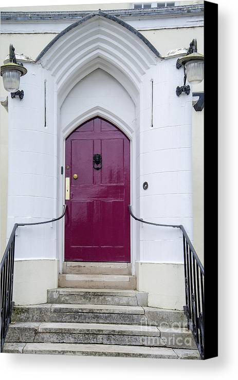 Door Canvas Print featuring the photograph Magenta Door by Patrice Dwyer