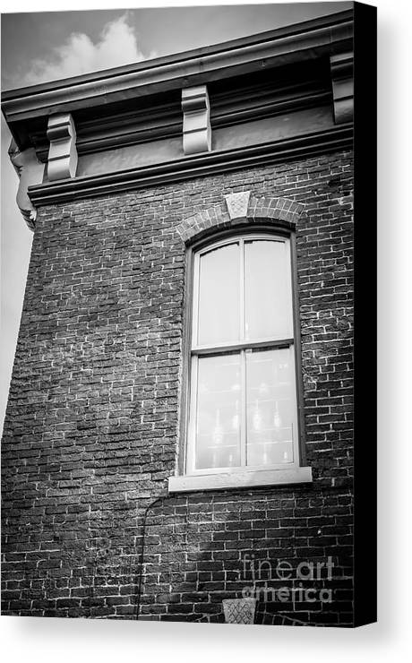 Galena Canvas Print featuring the photograph One Window by Amel Dizdarevic