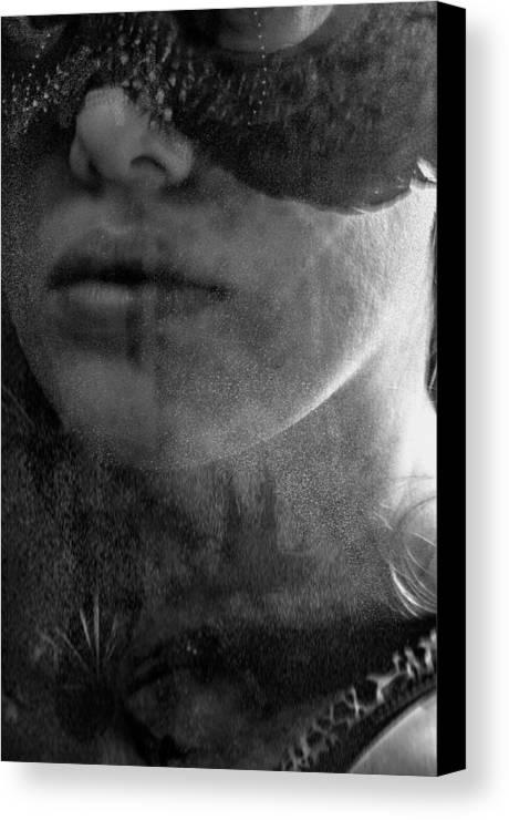 Paint It Black Canvas Print featuring the photograph Paint It Black by Zora Jenea Studios