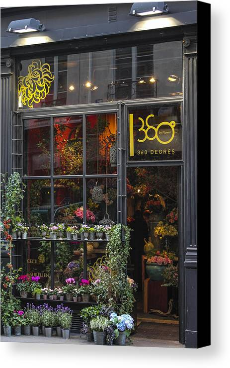 paris flower shop canvas print canvas art by glenn dipaola. Black Bedroom Furniture Sets. Home Design Ideas