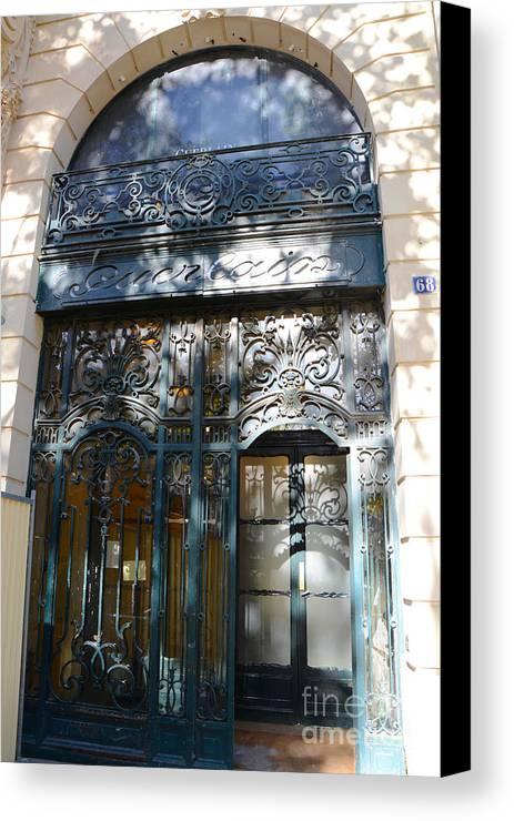 Genial Guerlain Cosmetic Storefront In Paris Canvas Print Featuring The Photograph  Paris Guerlain Storefront Boutique   Paris