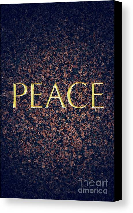 Peace Canvas Print featuring the photograph Peace by Tim Gainey