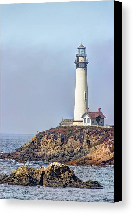 Coast Canvas Print featuring the photograph Pigeon Point by Heidi Smith