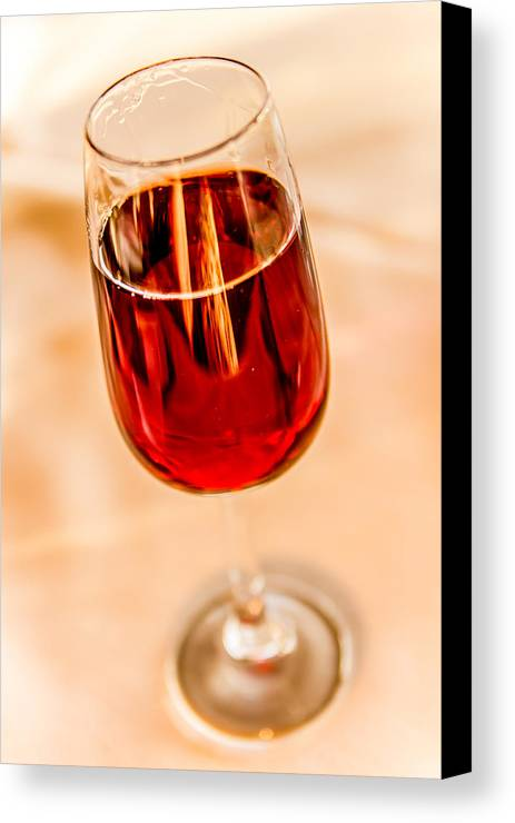 Port Canvas Print featuring the photograph Port Wine by April Reppucci