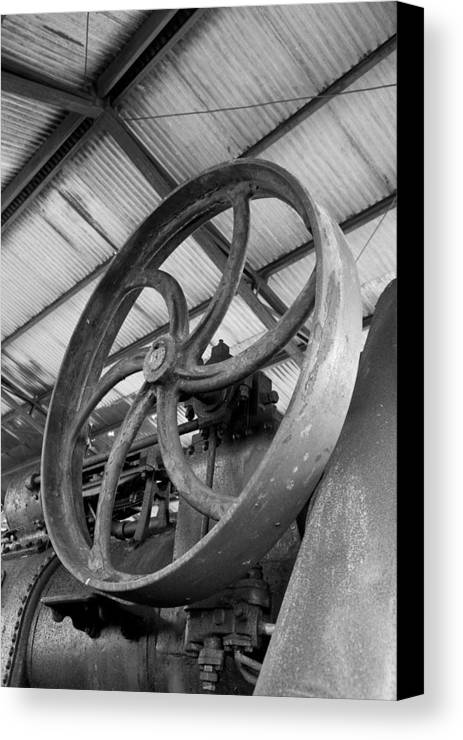 Black And White Canvas Print featuring the photograph Power With Style by Tim Grams