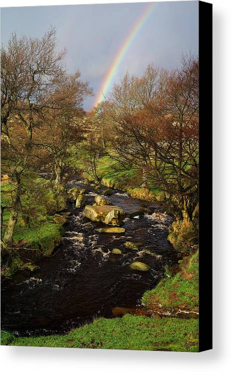 Rainbow Canvas Print featuring the photograph Rainbow River by Darren Galpin