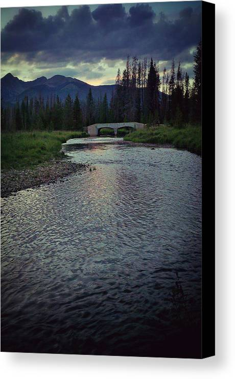 River Canvas Print featuring the photograph Rocky Mountain National Park by Joel Harrison
