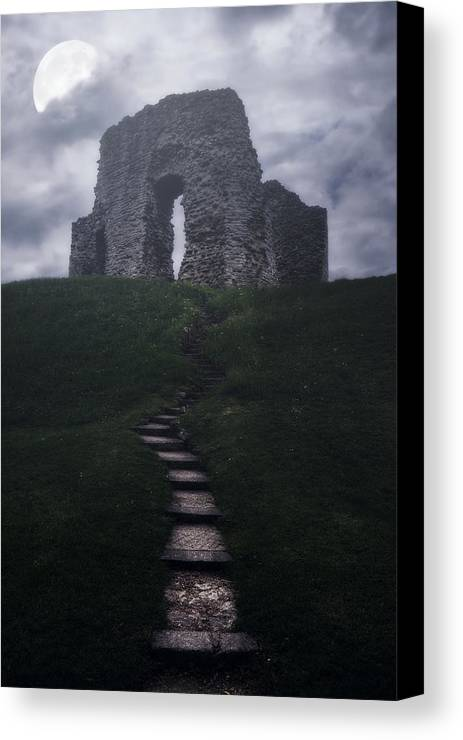 Ruin Canvas Print featuring the photograph Ruin Of Castle by Joana Kruse