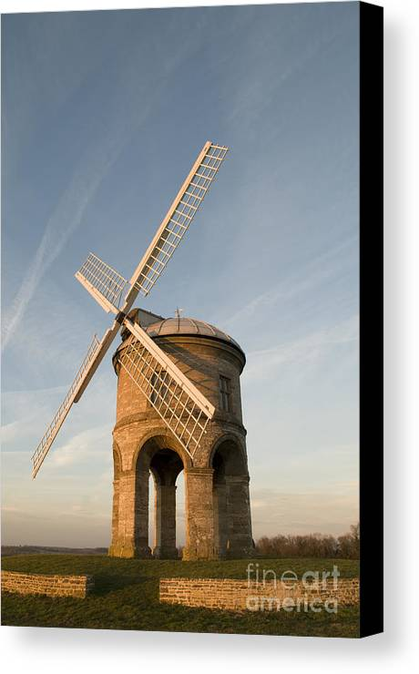 17th Canvas Print featuring the photograph Seventeenth Century Mill by Anne Gilbert