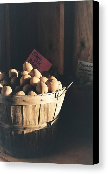 Potatoes Canvas Print featuring the photograph Sierra Gold by Caitlyn Grasso
