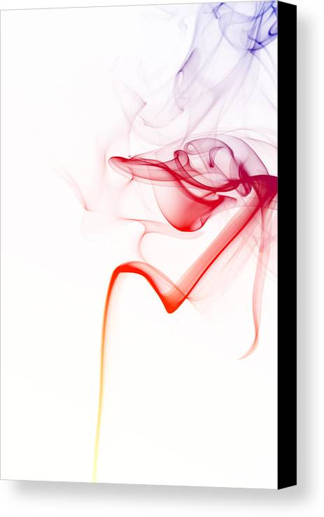 Smoke Canvas Print featuring the photograph Smoke 2 by GK Photography