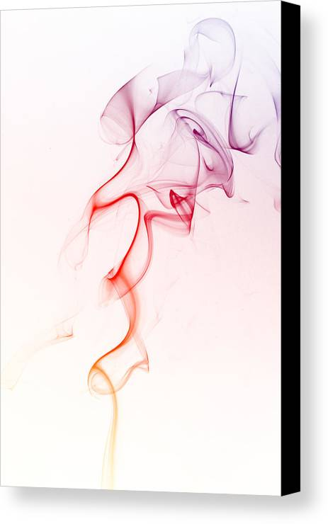 Smoke Canvas Print featuring the photograph Smoke 5 by GK Photography