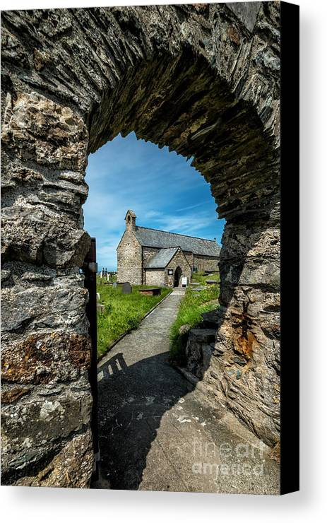 Anglesey Canvas Print featuring the photograph St Patrick Arch by Adrian Evans