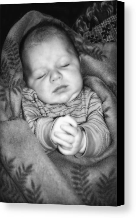 Baby Canvas Print featuring the photograph Sweet Dreams by Susan Leggett
