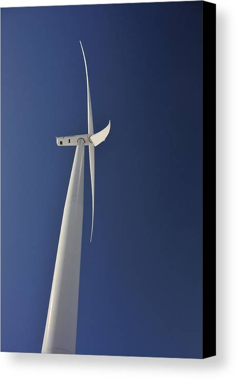 Turbine Canvas Print featuring the photograph The Answer by Brian McNulty