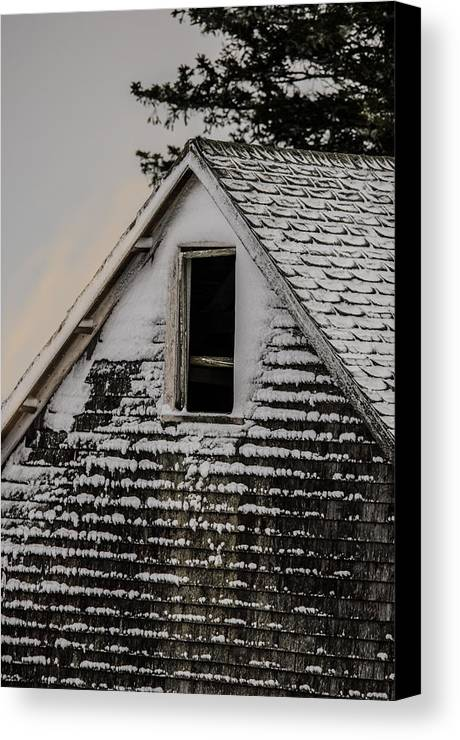 Barn Canvas Print featuring the photograph The Crows Nest by Susan Capuano