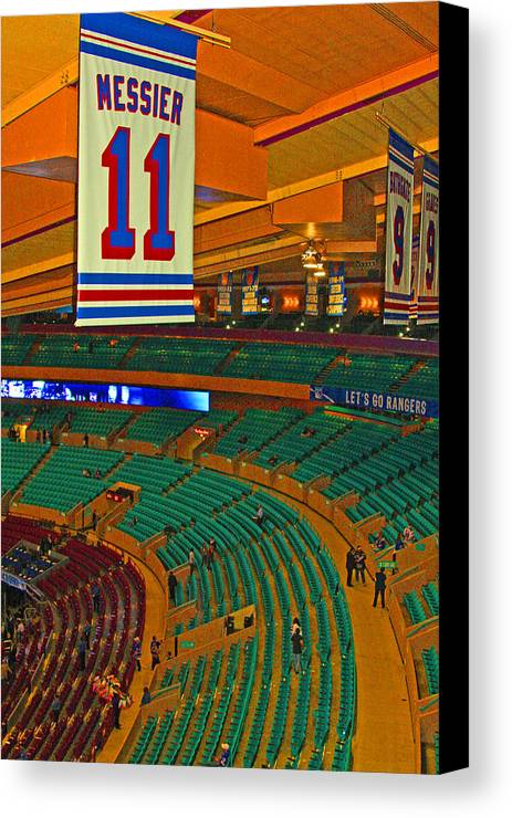 Sports Canvas Print featuring the photograph The Garden by Karol Livote