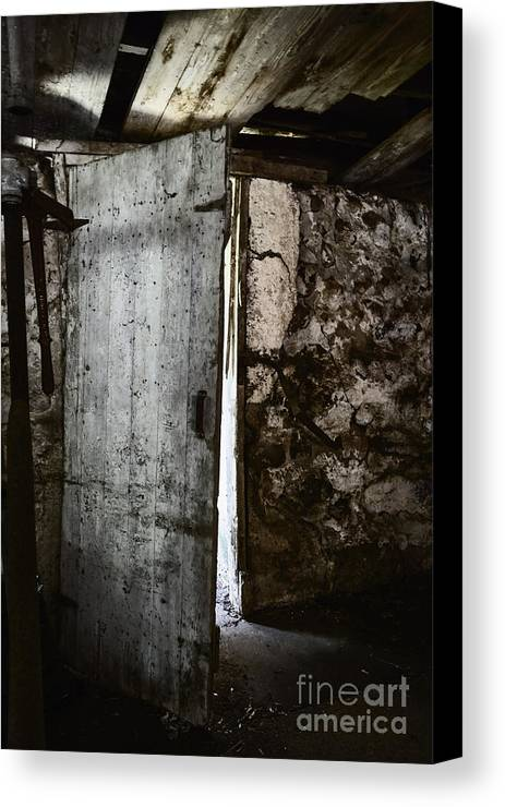 Door Canvas Print featuring the photograph The Light Within by Margie Hurwich