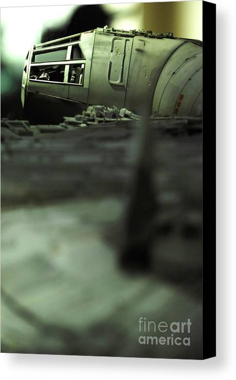 Fighter Canvas Print featuring the photograph The Millennium Falcon by Micah May