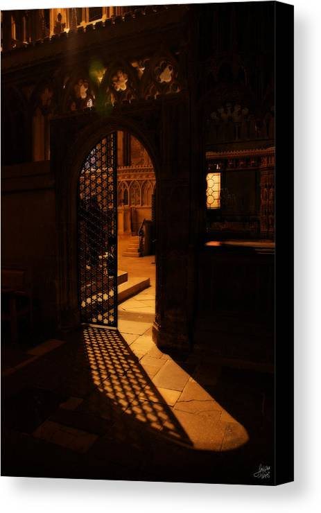 Quire Canvas Print featuring the photograph The Quire Lies Beyond by Lisa Knechtel