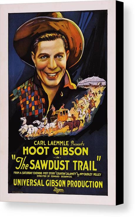 1920s Movies Canvas Print featuring the photograph The Sawdust Trail, Aka Sawdust Trail by Everett