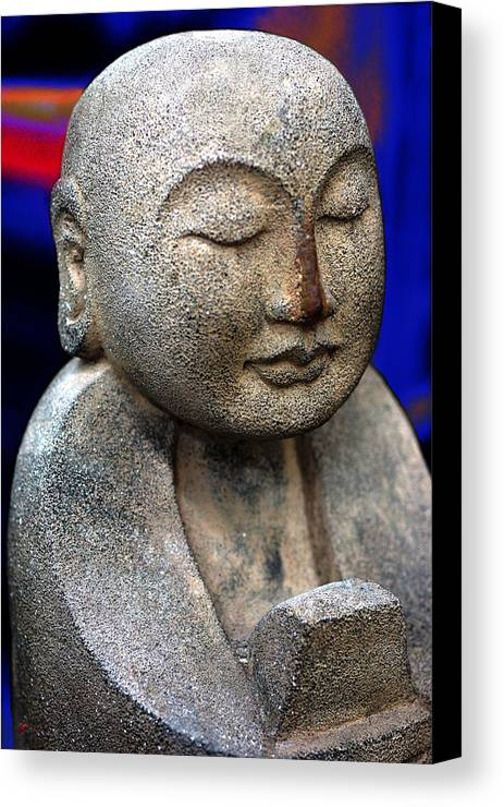 Idols Canvas Print featuring the photograph They Turned To Stone by Lorenzo Williams