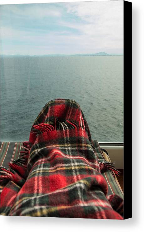 Deck Chair Canvas Print featuring the photograph This Is The Life by Marilyn Wilson