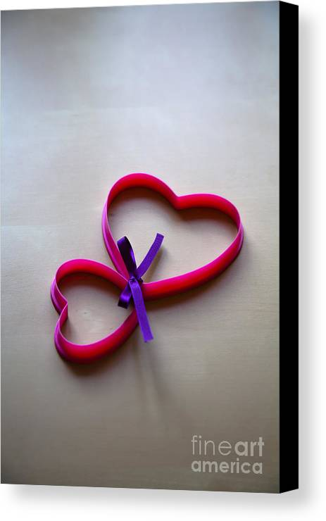 Two Canvas Print featuring the photograph Tied To You by Jan Bickerton