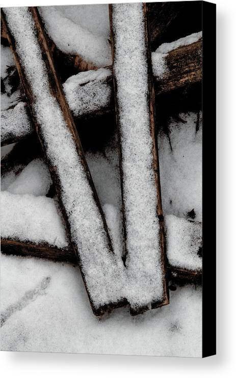 V Canvas Print featuring the photograph V by Odd Jeppesen