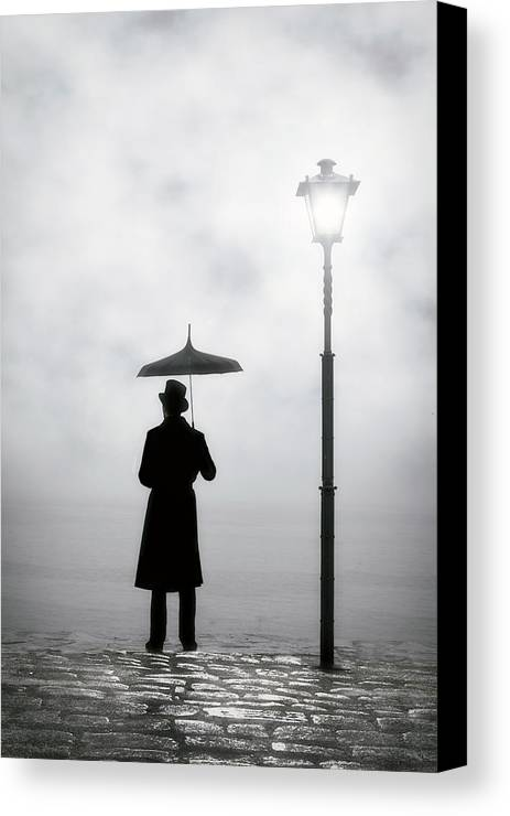 Man Canvas Print featuring the photograph Victorian Man by Joana Kruse