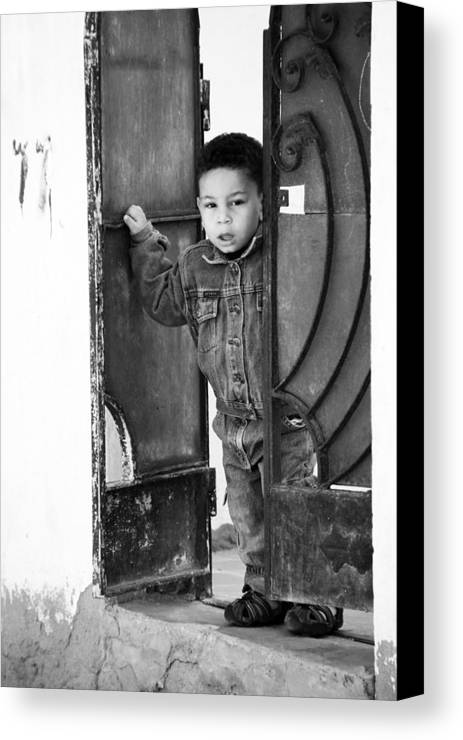 Jezcself Canvas Print featuring the photograph Welcome To Our Home by Jez C Self