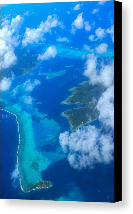 Sky Canvas Print featuring the photograph Wild Blue Yonder by Jim Southwell