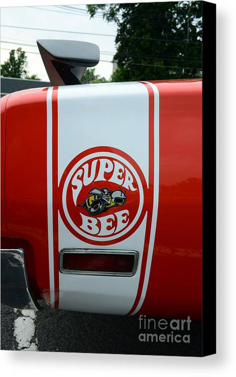 1970 Dodge Super Bee Canvas Print featuring the photograph 1970 Dodge Super Bee 1 by Paul Ward