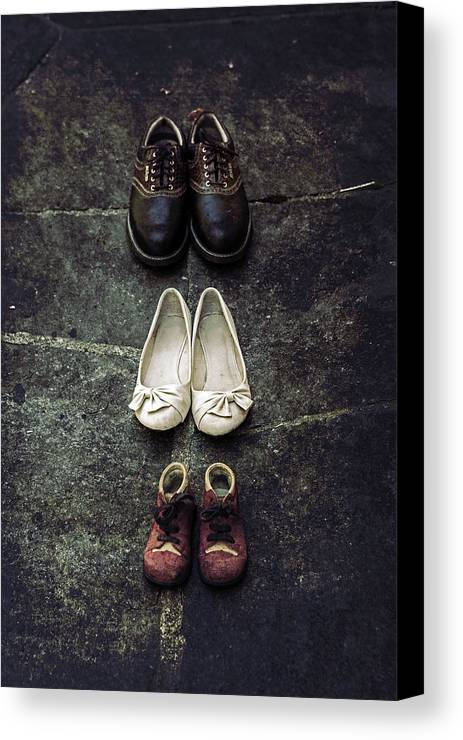 Shoe Canvas Print featuring the photograph Shoes by Joana Kruse