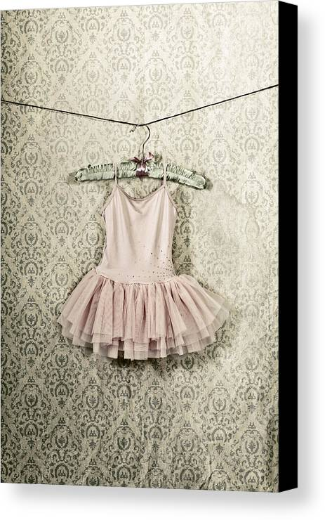 Tulle Canvas Print featuring the photograph Ballet Dress by Joana Kruse