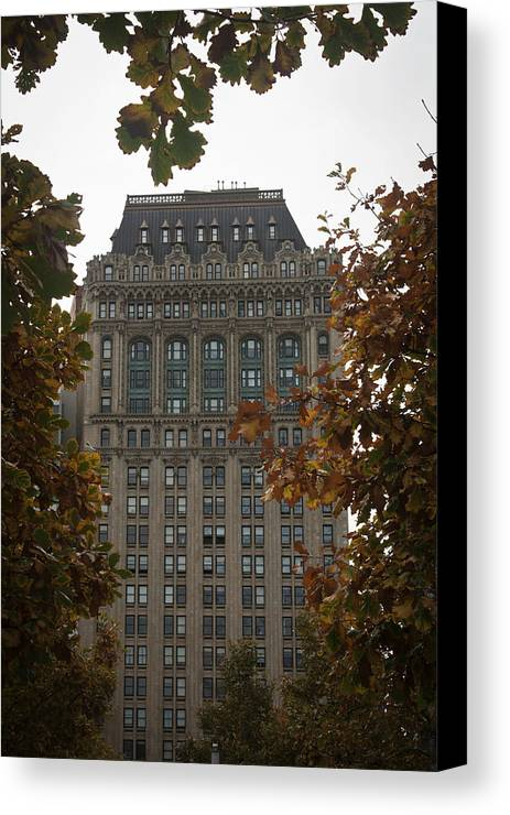 90 West Canvas Print featuring the photograph 90 West by Teresa Mucha