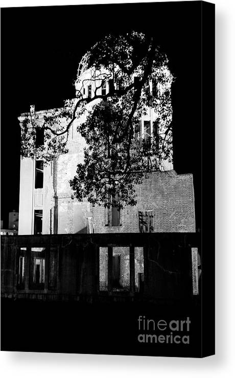 A-bomb Canvas Print featuring the photograph A-bomb Dome by Dean Harte