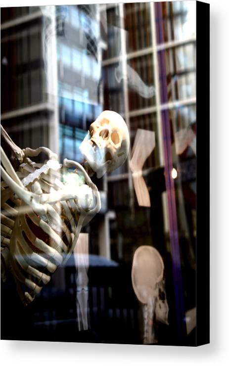 Jezcself Canvas Print featuring the photograph Always Out There But You Cannot See Us by Jez C Self