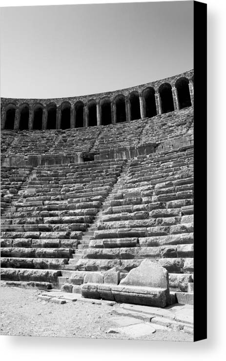 Antiquities Canvas Print featuring the photograph Antiquities by Angela Siener