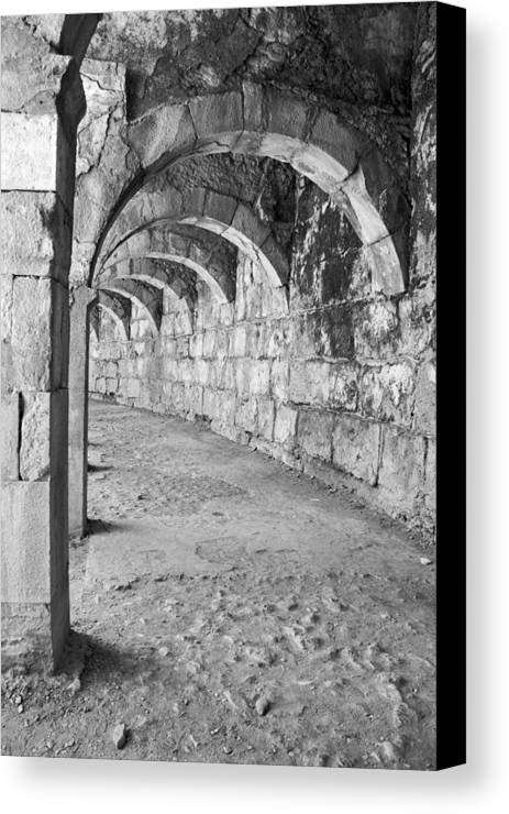 Photograph Canvas Print featuring the photograph Archway by Angela Siener