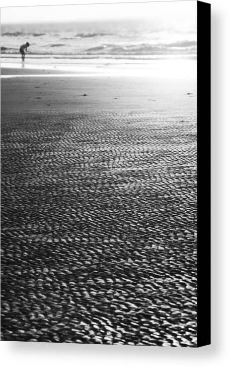 Beach Canvas Print featuring the photograph Beach Play by Douglas Barnard