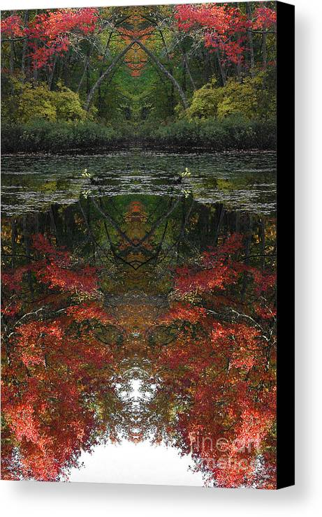 Canvas Print featuring the photograph Creation 368 by Mike Nellums