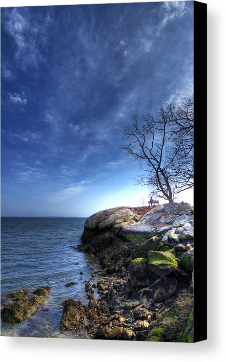 Hdr Canvas Print featuring the photograph Enjoying The Afternoon by Tolga Cetin