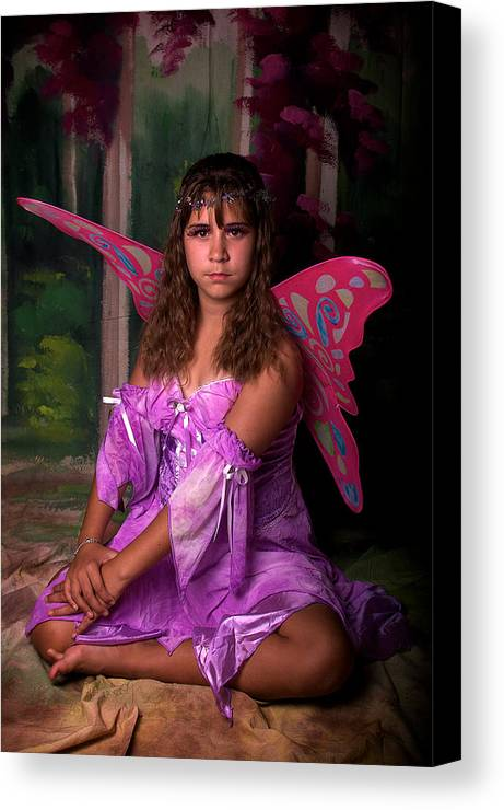 Fairy Canvas Print featuring the photograph Fairy by Andre Faubert