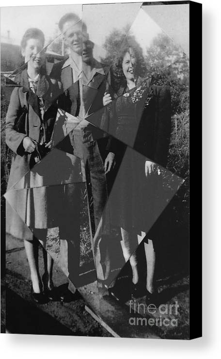 Family Canvas Print featuring the photograph Fractured Family by Joanne Kocwin