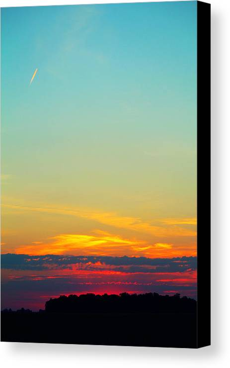 Fly Canvas Print featuring the photograph Glow by Lucy Bruce