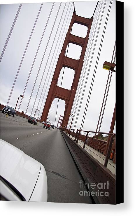 Golden Gate Canvas Print featuring the photograph Golden Gate Bridge San Francisco California Usa by Sherry Curry