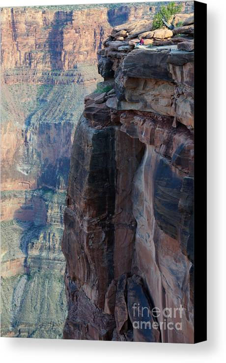 Grand Canyon Canvas Print featuring the photograph Grand Canyon Close Enough by Bob Christopher