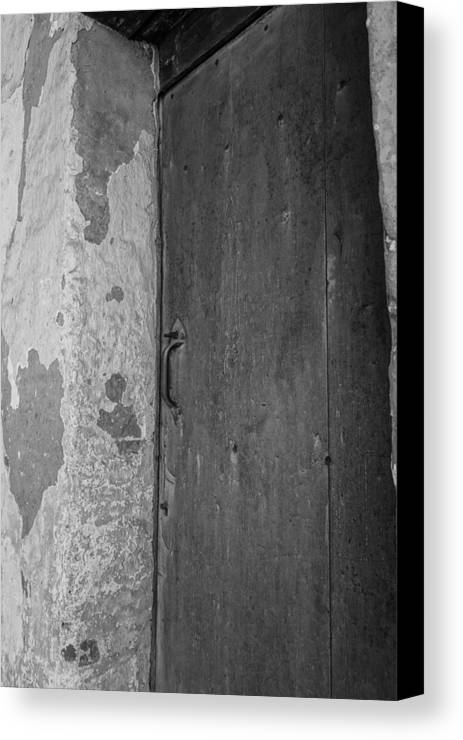 Old Door Canvas Print featuring the photograph Knock And It Shall Be Opened by Armando Perez