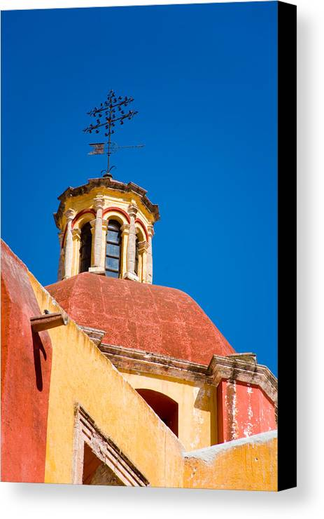 Baroque Canvas Print featuring the photograph Looking Up To Heaven by Eggers Photography